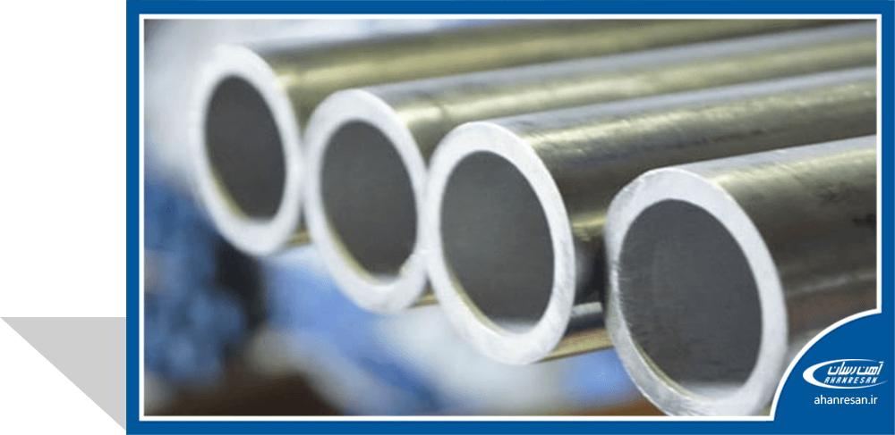 قیمت لوله استنلس استیل صنعتی درزدار 11.4 اینچ رده 40