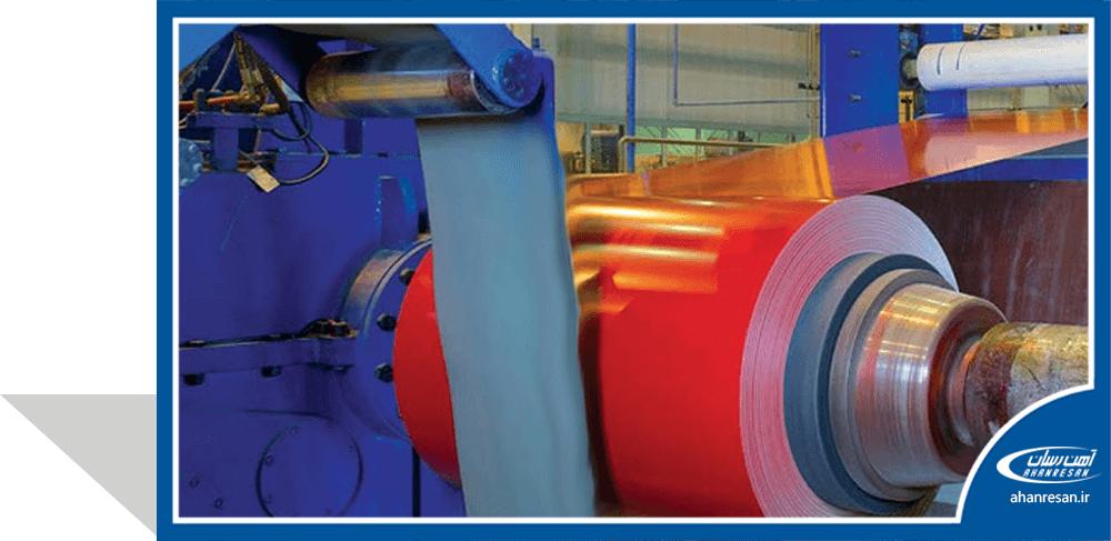 قیمت ورق رنگی فولاد چین 0.18 میل قرمز 1000رول