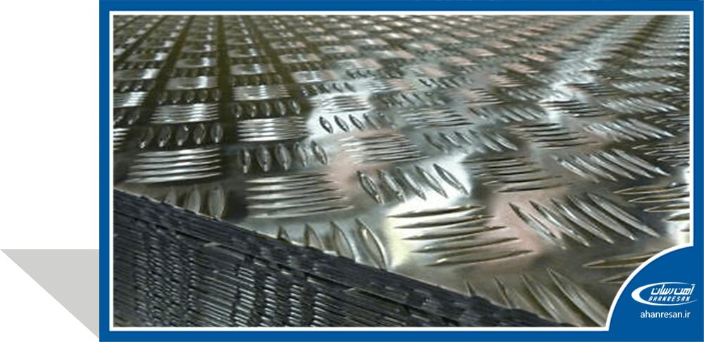 قیمت ورق آجدار 3 میل فولاد مبارکه شیت