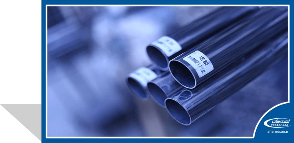 قیمت لوله استنلس استیل صنعتی درزدار 18 اینچ رده 10