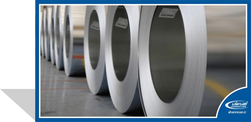 قیمت ورق روغنی 0.8 میل فولاد مبارکه 1000