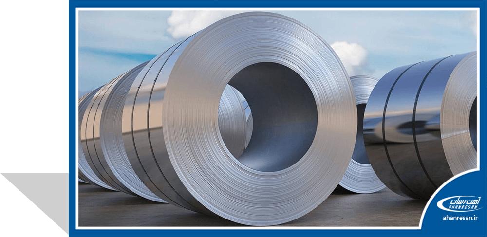قیمت ورق روغنی 0.9 میل فولاد مبارکه 1000