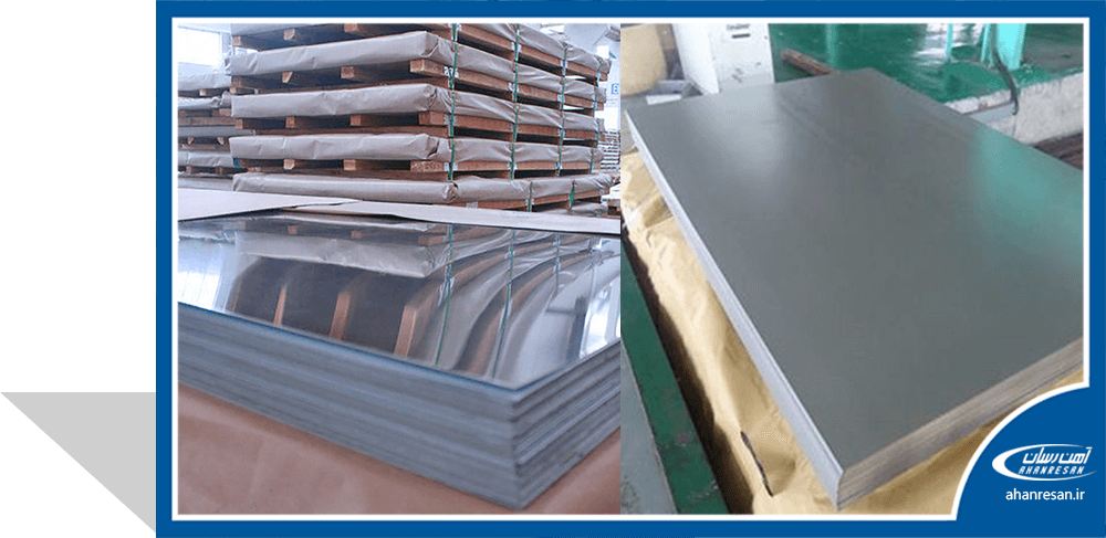 قیمت ورق روغنی فولاد غرب 0.3 میل 1000