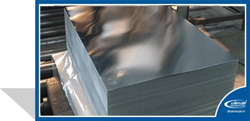 قیمت ورق روغنی فولاد غرب 0.35 میل 1250