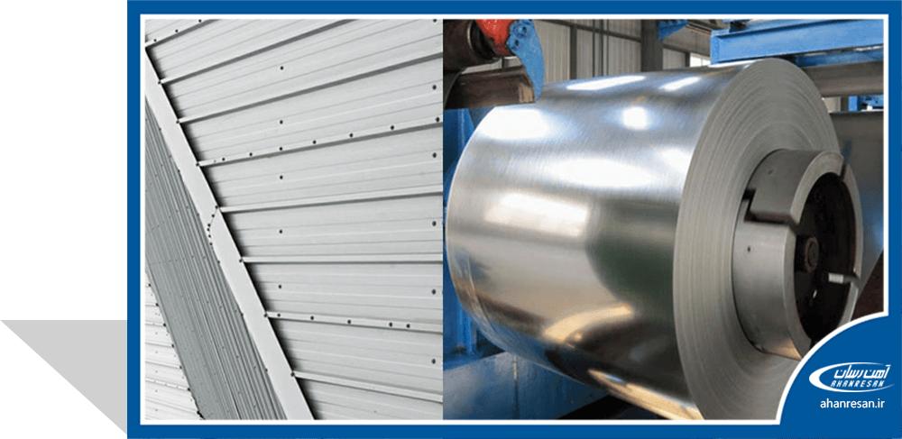 قیمت ورق روغنی فولاد غرب 0.4 میل 1000