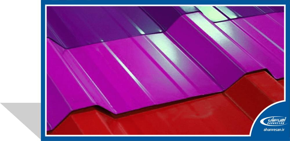 قیمت ورق رنگی هفت الماس 0.7 میل سفید یخچالی 1250