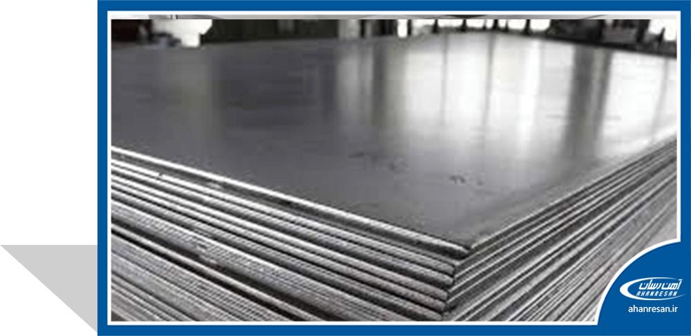 قیمت ورق روغنی فولاد غرب 0.6 میل 1000