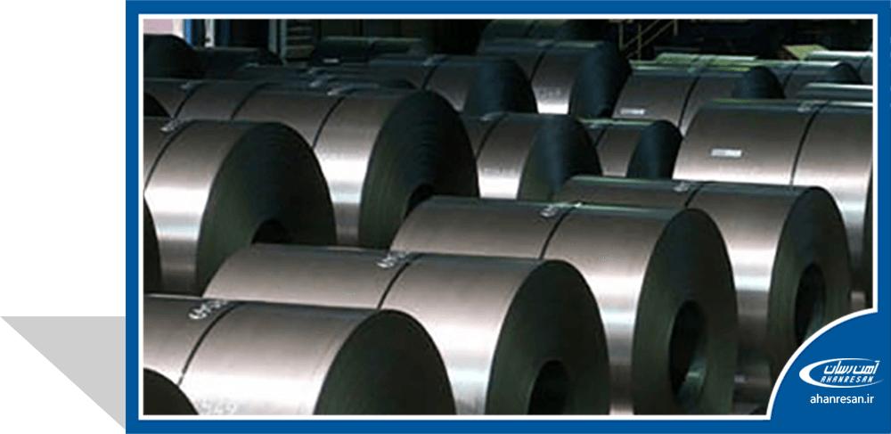 قیمت ورق روغنی فولاد غرب 0.7 میل 1000