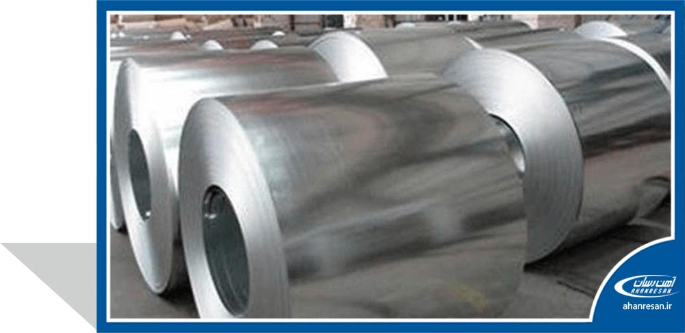 قیمت ورق روغنی فولاد غرب 0.8 میل 1250