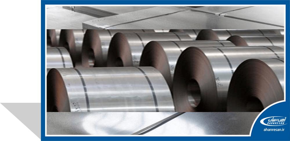 قیمت ورق روغنی فولاد غرب 1 میل 1250