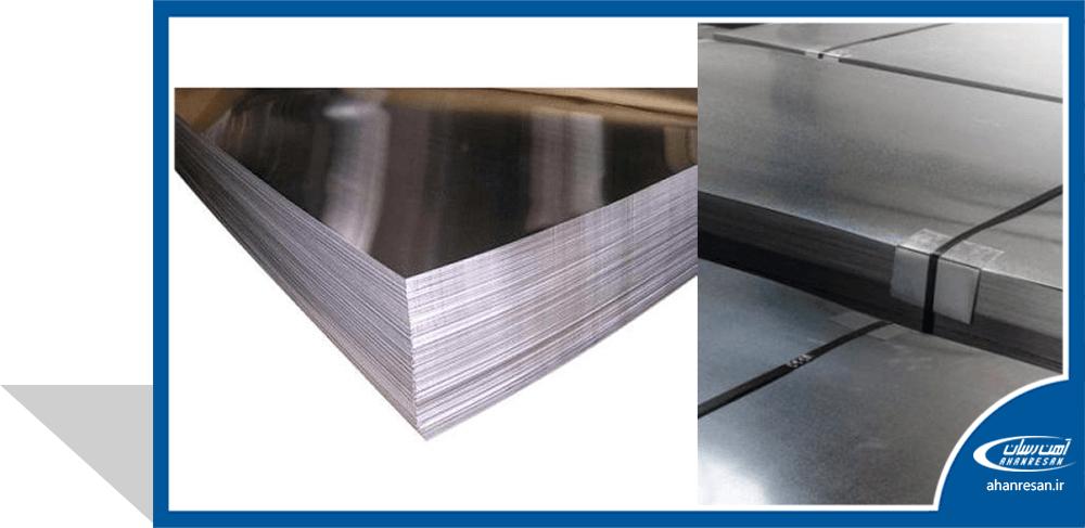 قیمت ورق روغنی فولاد غرب 1.5 میل 1250