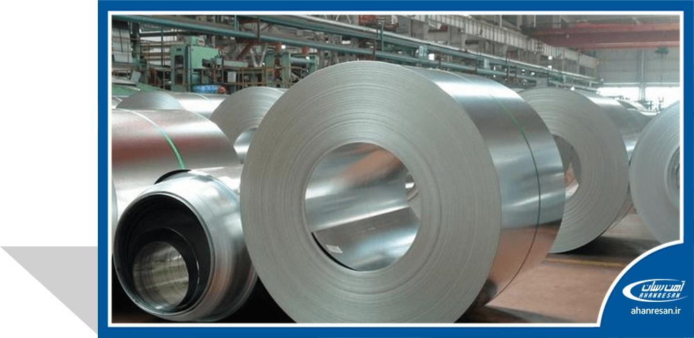 قیمت ورق روغنی فولاد غرب 2 میل 1250