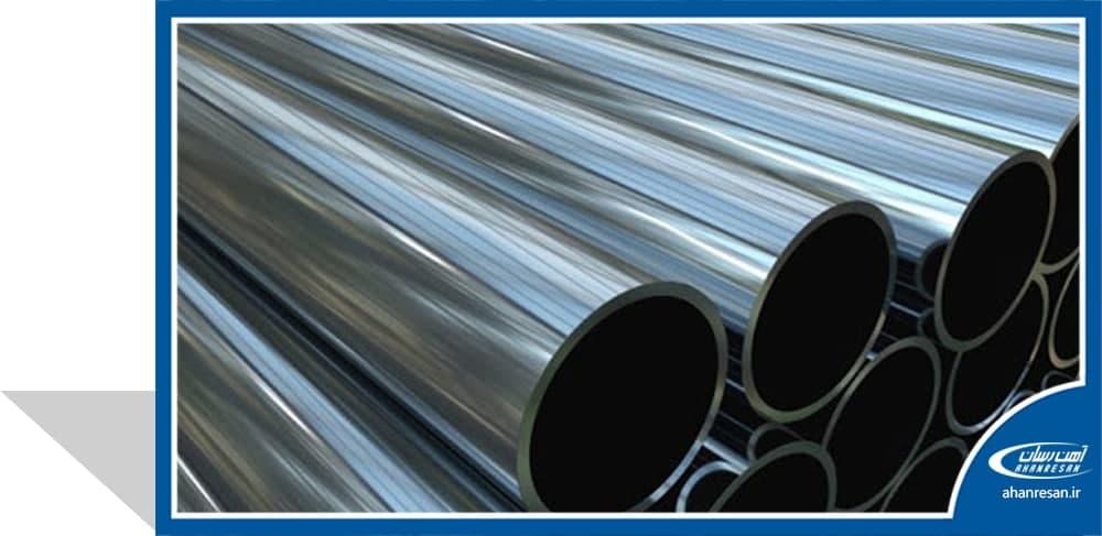 قیمت لوله استنلس استیل صنعتی درزدار 2 اینچ رده 10